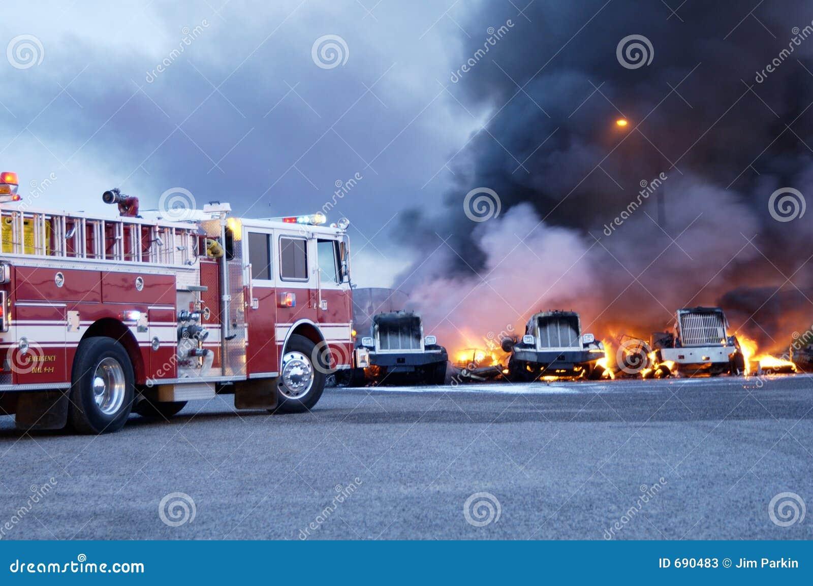 Incendie 3 de camion