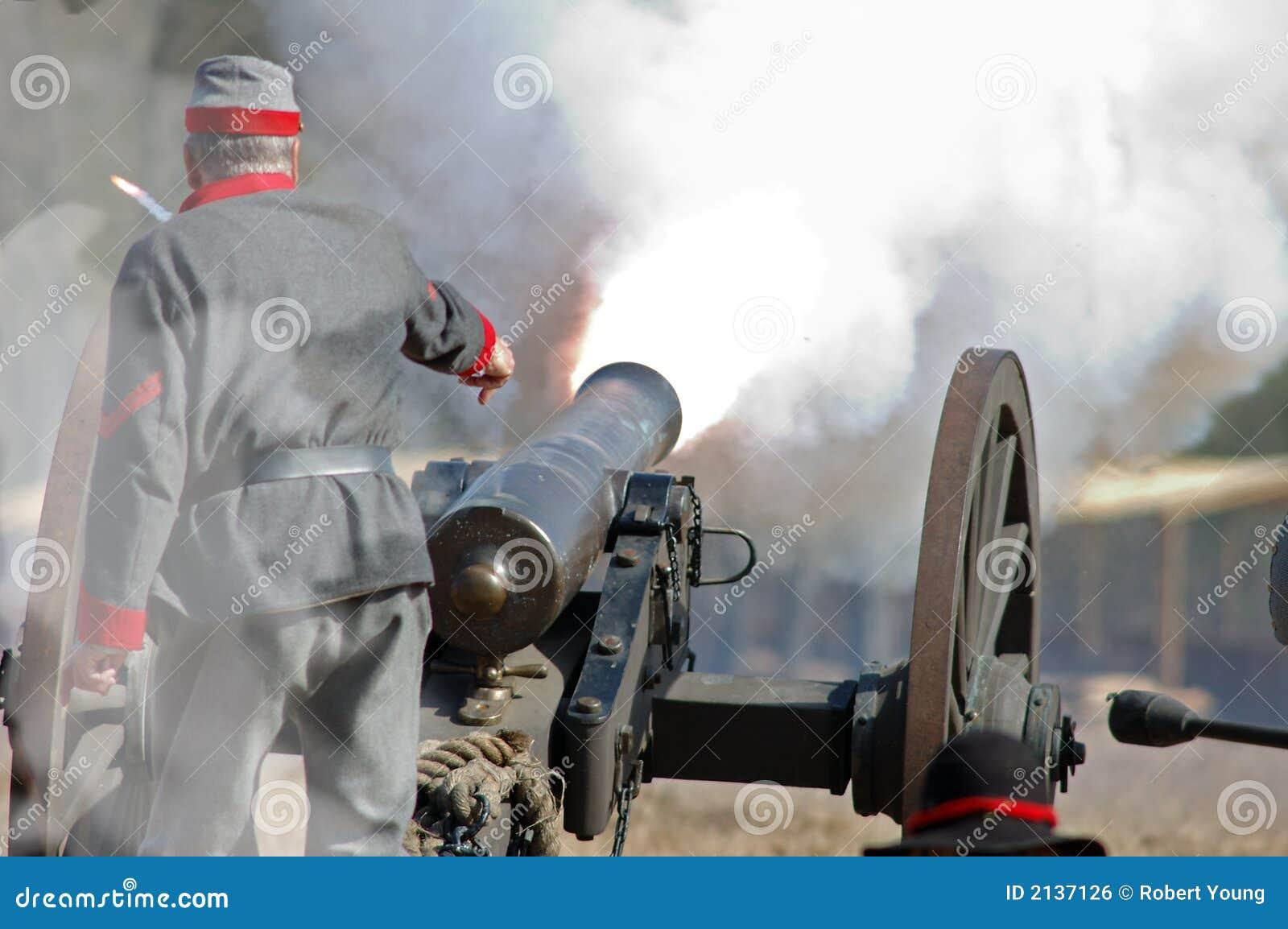 Incendie de canon