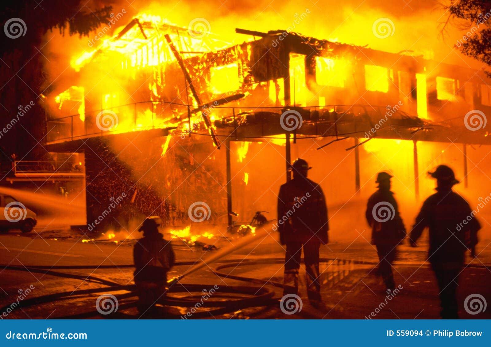 Incendie de structure