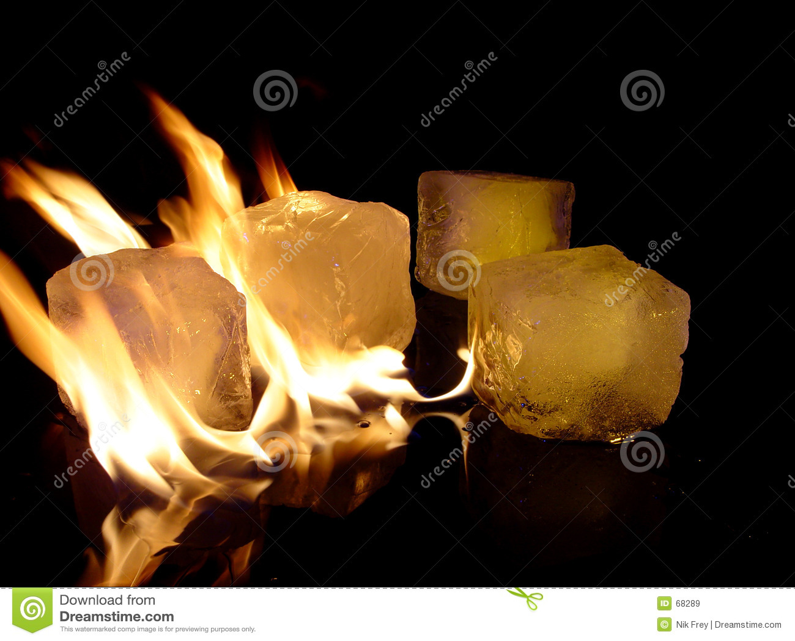 Incendie et glace