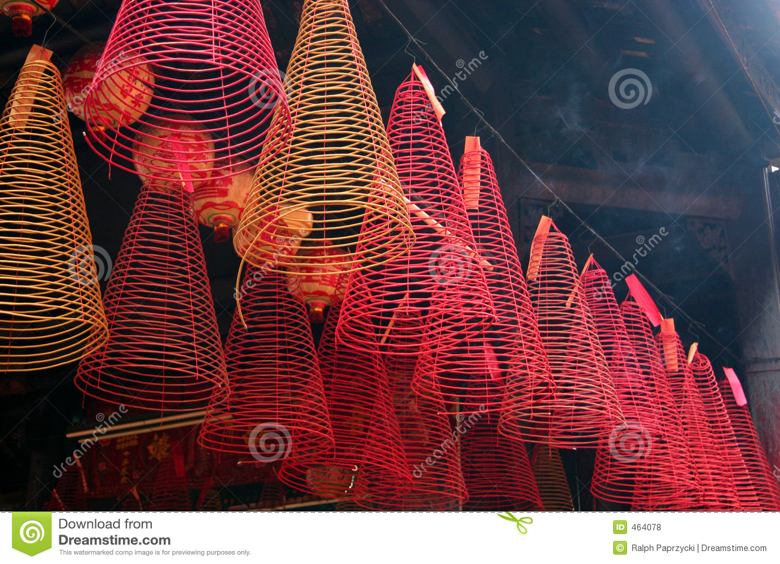 Download Incense, Tam Son Hoi Quan Pagoda, Ho Chi Minh City Stock Photo - Image of prayer, culture: 464078