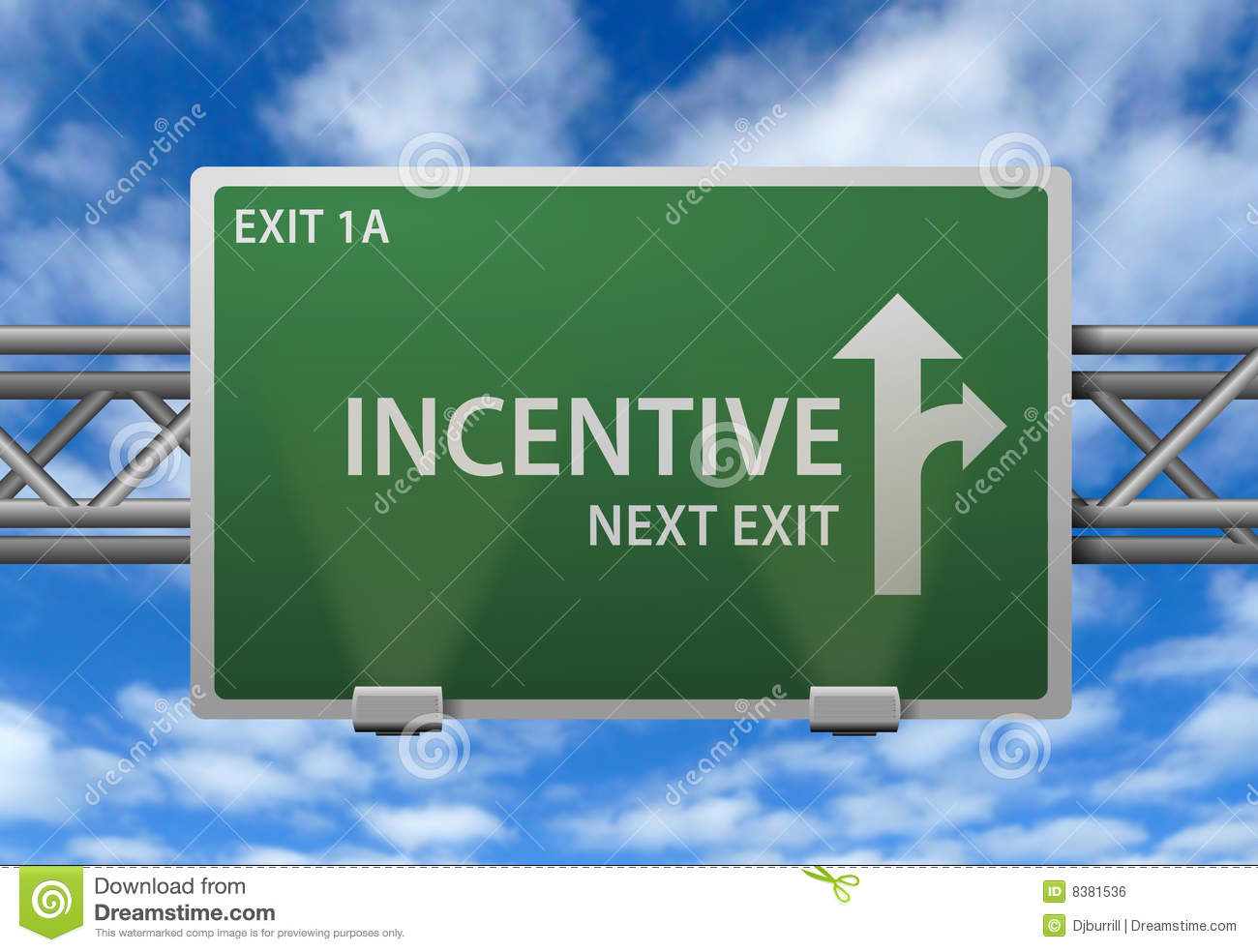 Incentive Road Sign Royalty Free Stock Image - Image: 8381536