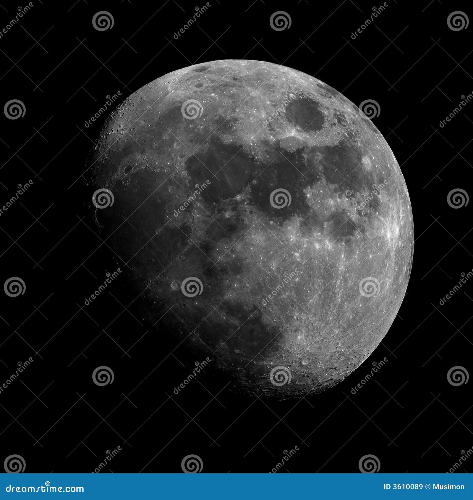 Inceratura della luna Gibbous