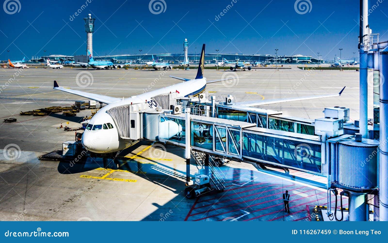 Incheon International Airport ICN - Boarding