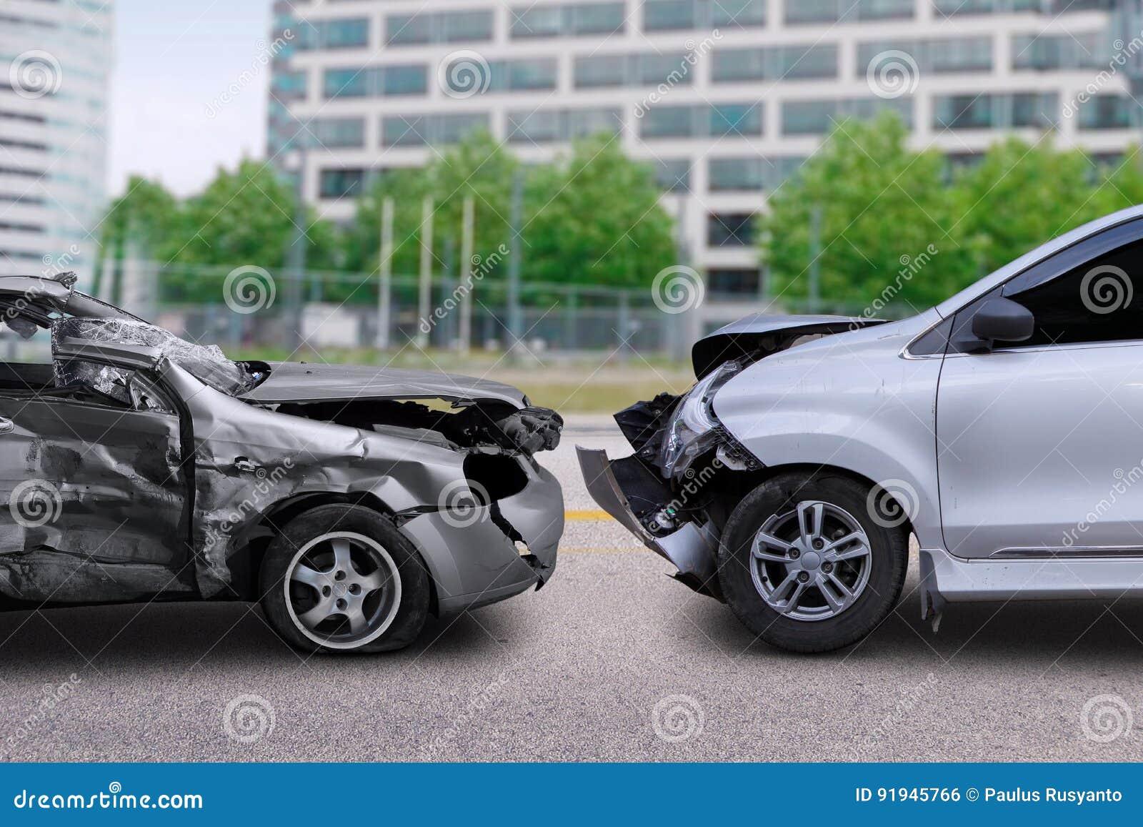 Incidente stradale sulla strada