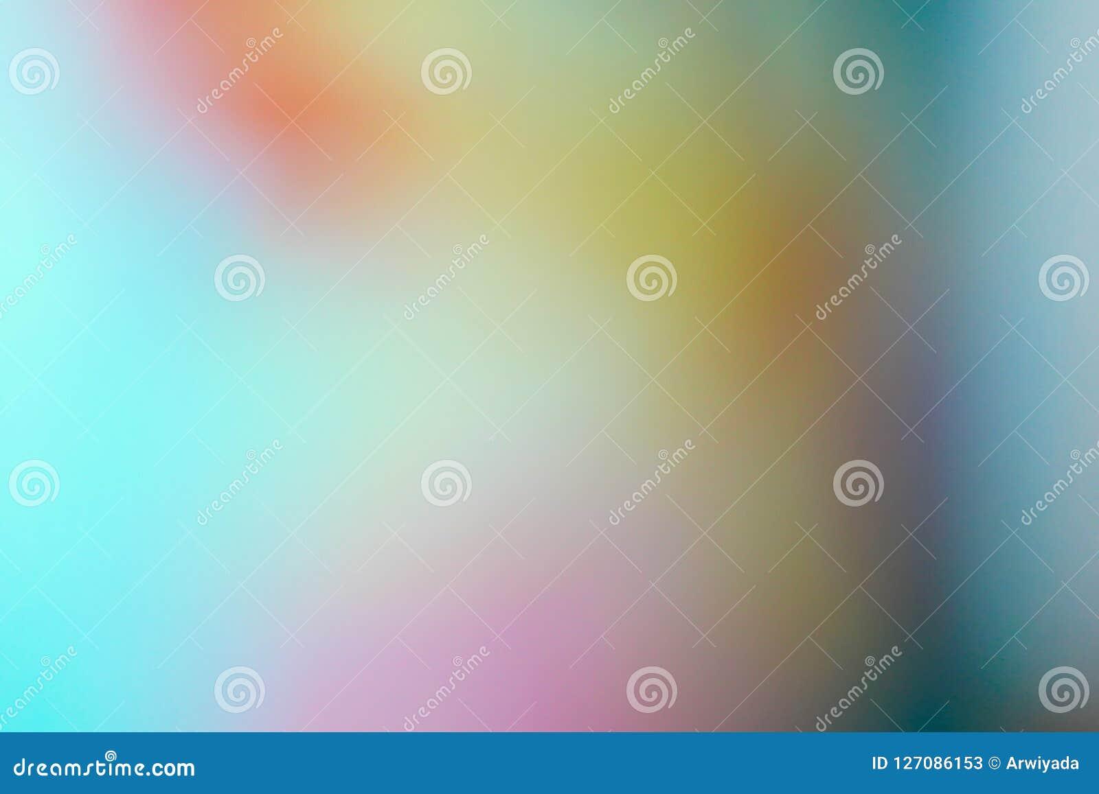 Inclinação colorido borrado do borrão do sumário do fundo com brilhante