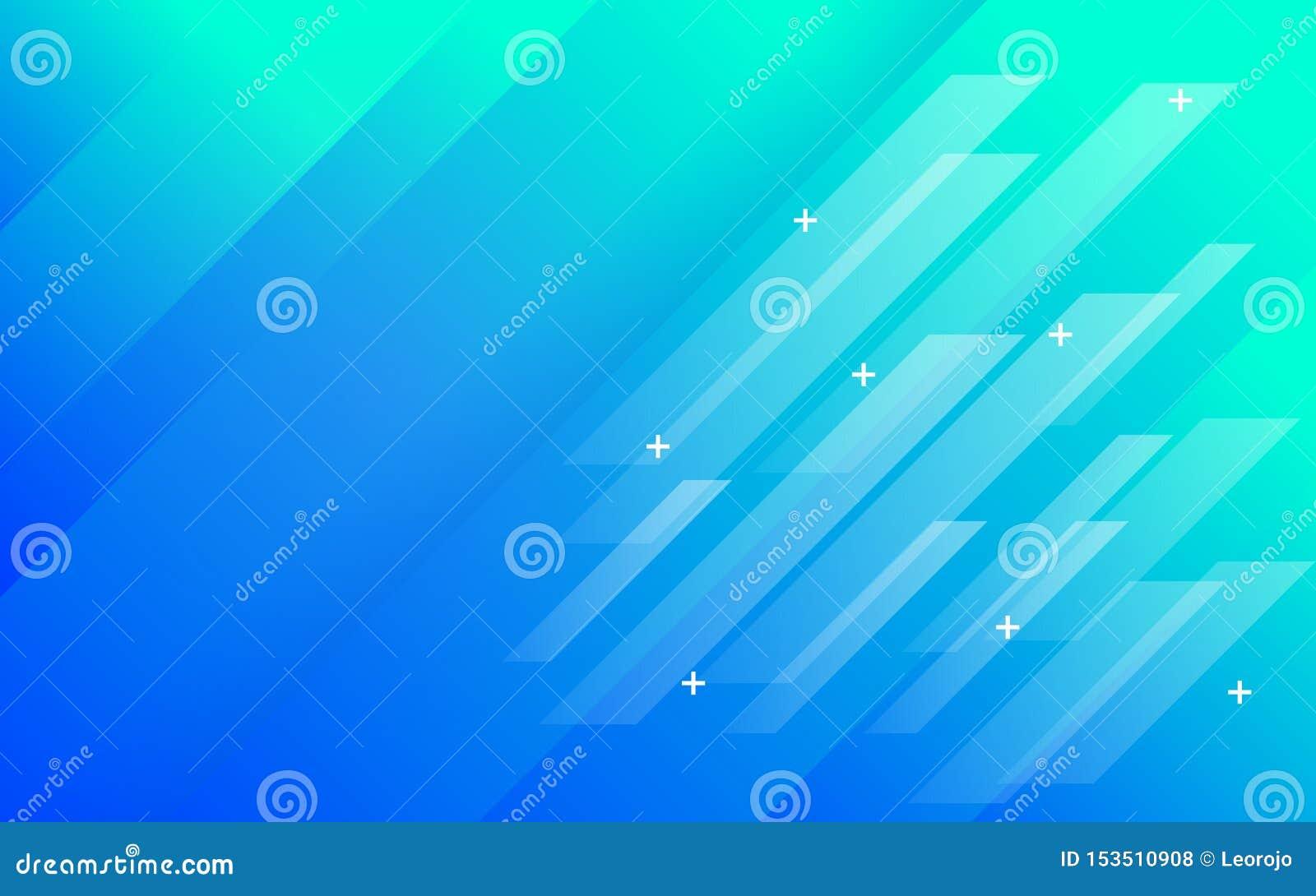 Inclinação verde azul do fundo do sumário com painéis