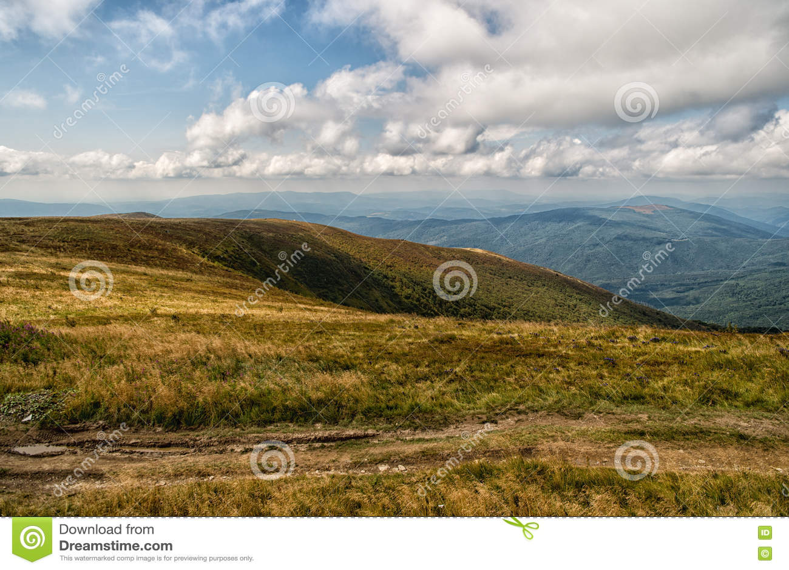 Inclinações de montanha bonitas
