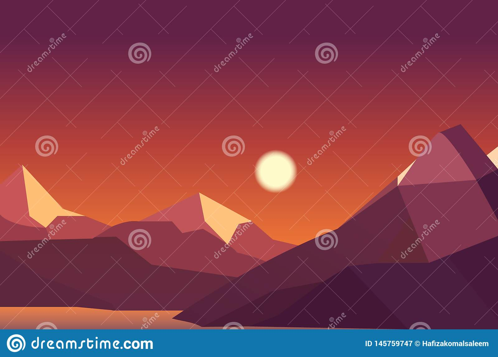 Creative Landscape Background With Mountain Stock Illustration Illustration Of Sunset Shadow 145759747,Architectural Design Plans