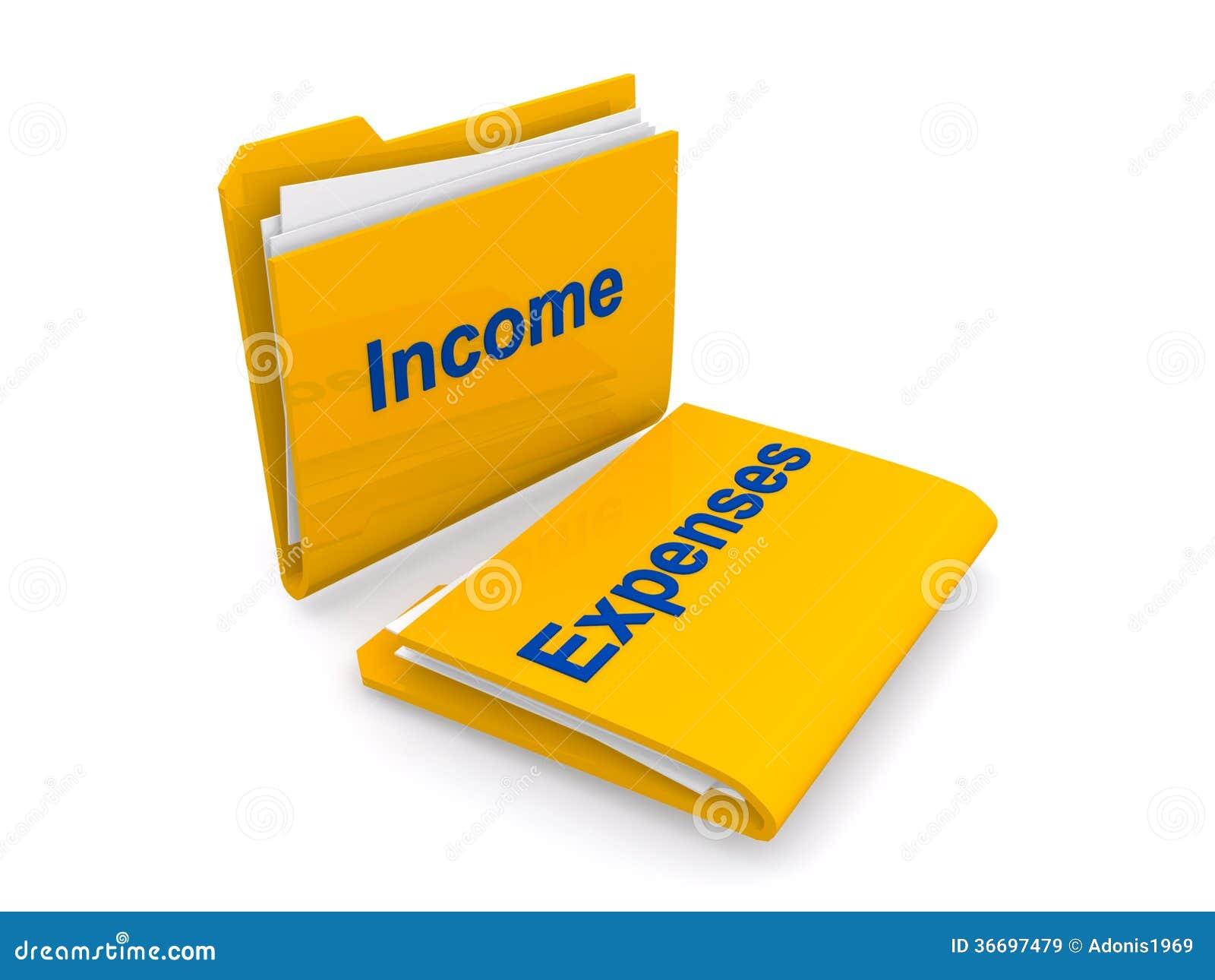 income vs expense