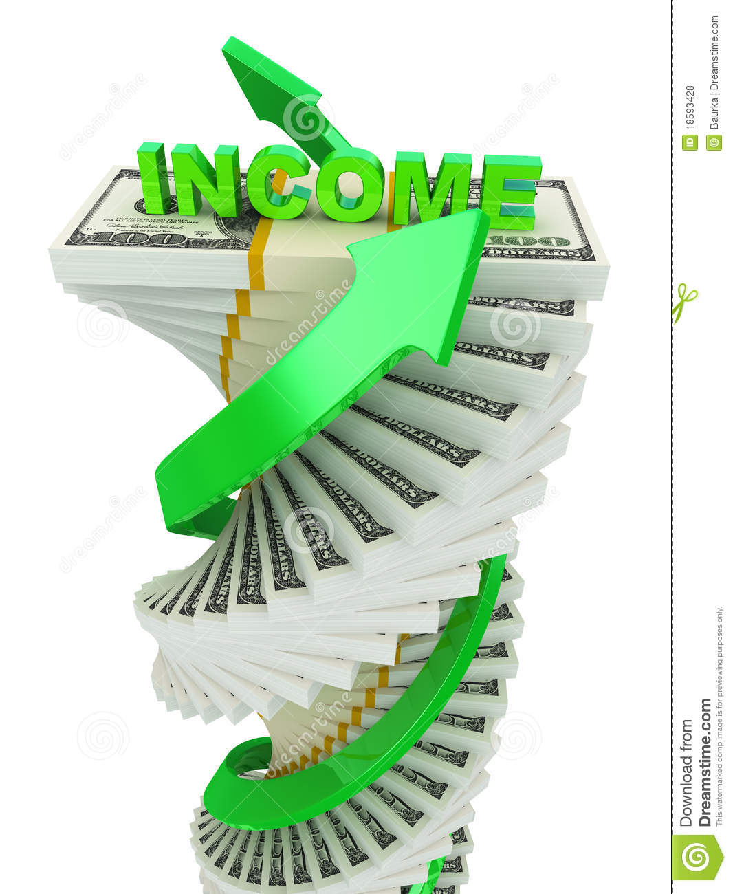 income growth concept royalty free stock photos image stack of money clip art free Money Bag Clip Art