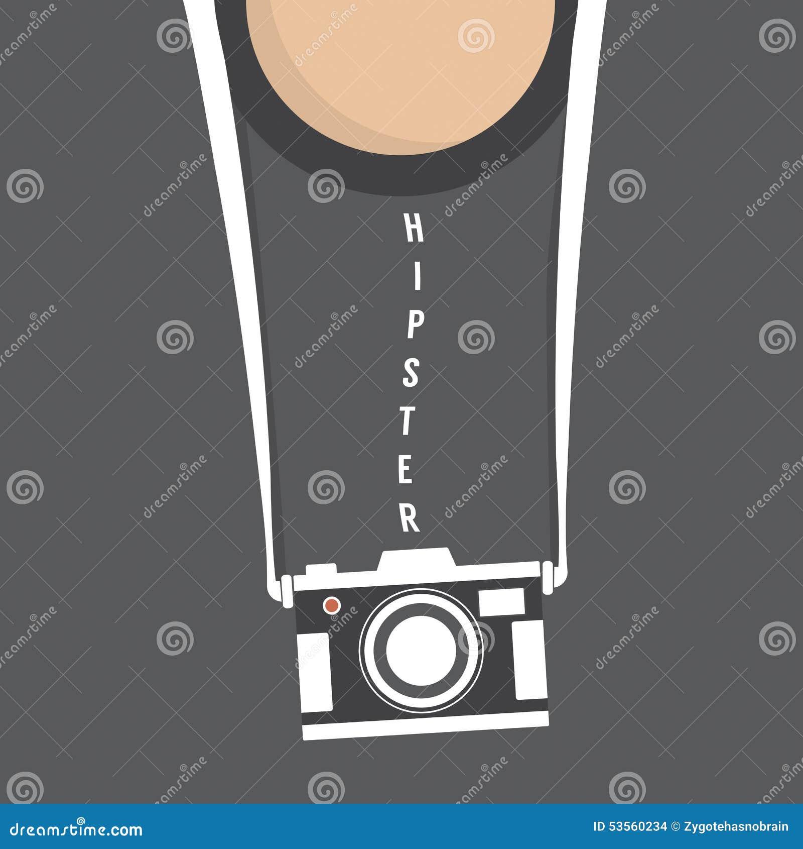 Inconformista Person With Retro Camera