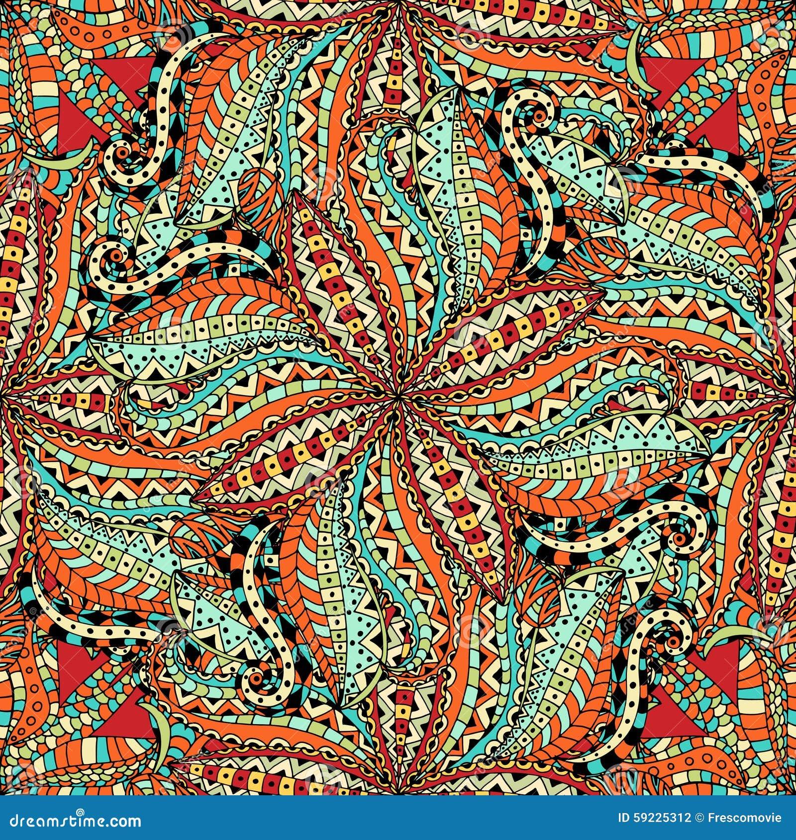 Download Inconsútil floral ilustración del vector. Ilustración de árabe - 59225312