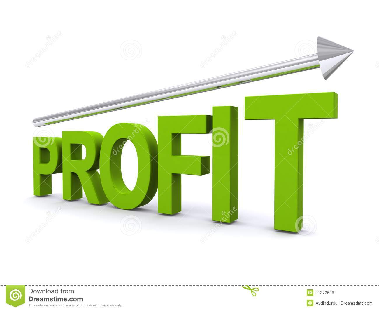 Increase In Profit stock photo. Image of financial ...