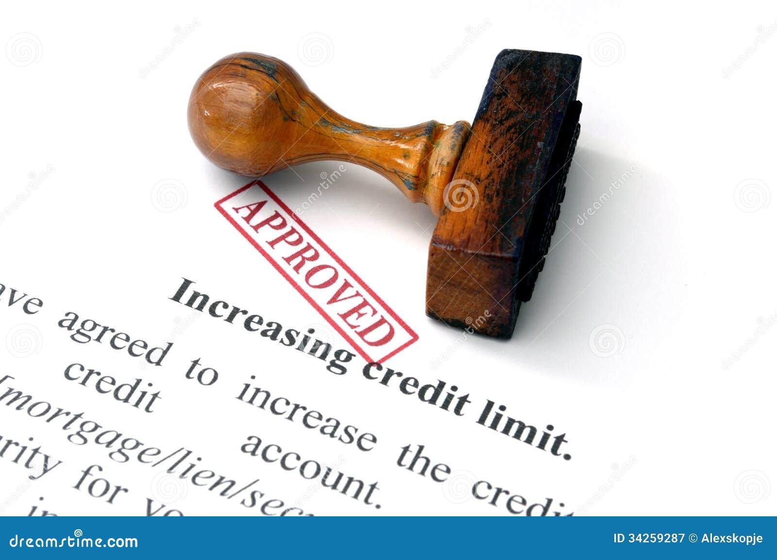 increasing credit limit