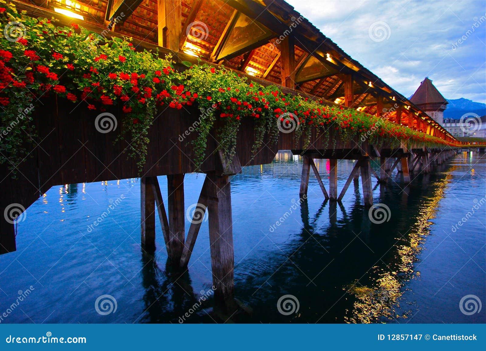 Incredible Chapel Bridge of Luzern