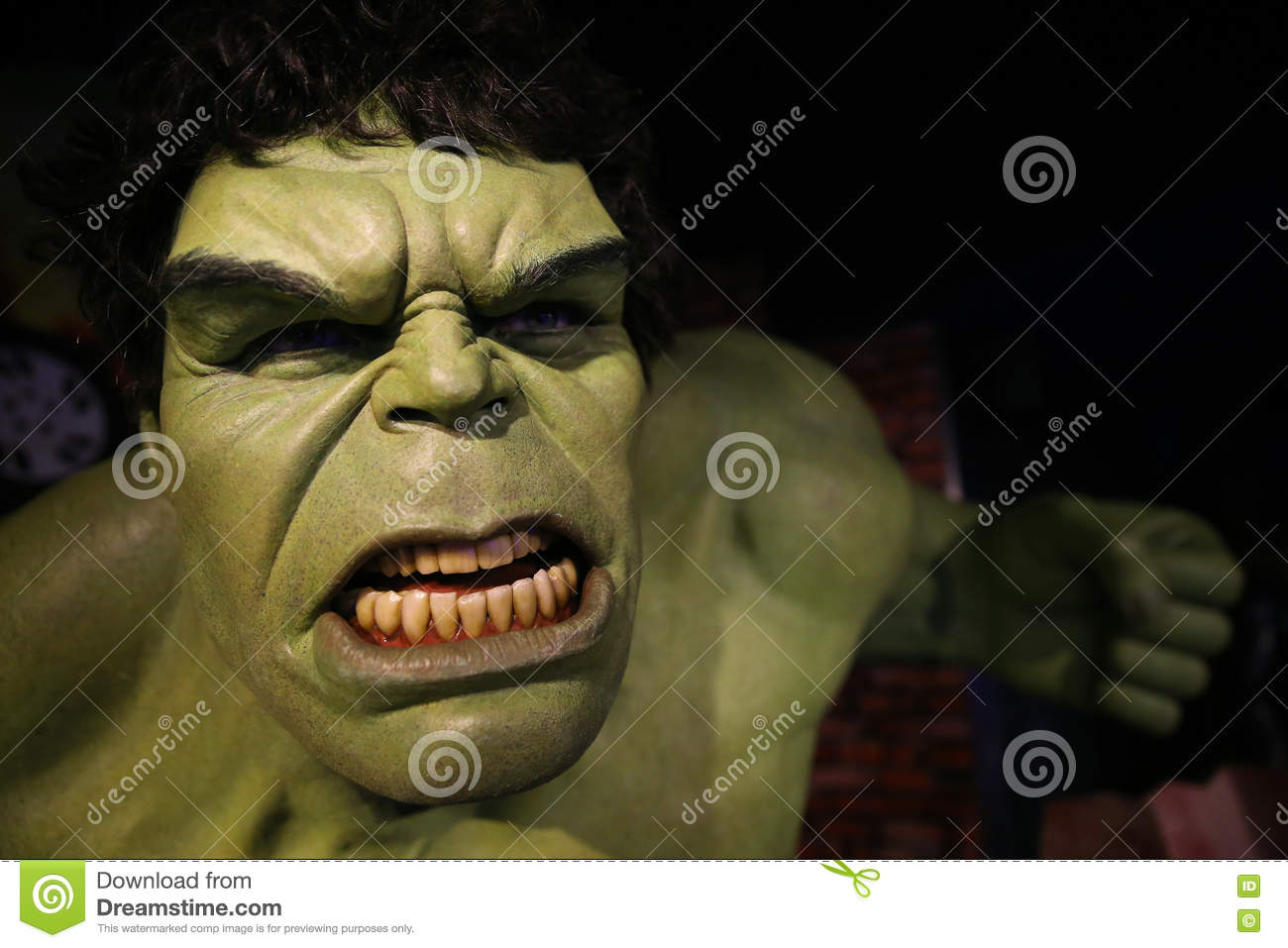 4181d6f8b The Incredible Hulk Portrait Editorial Photography - Image of gamma ...