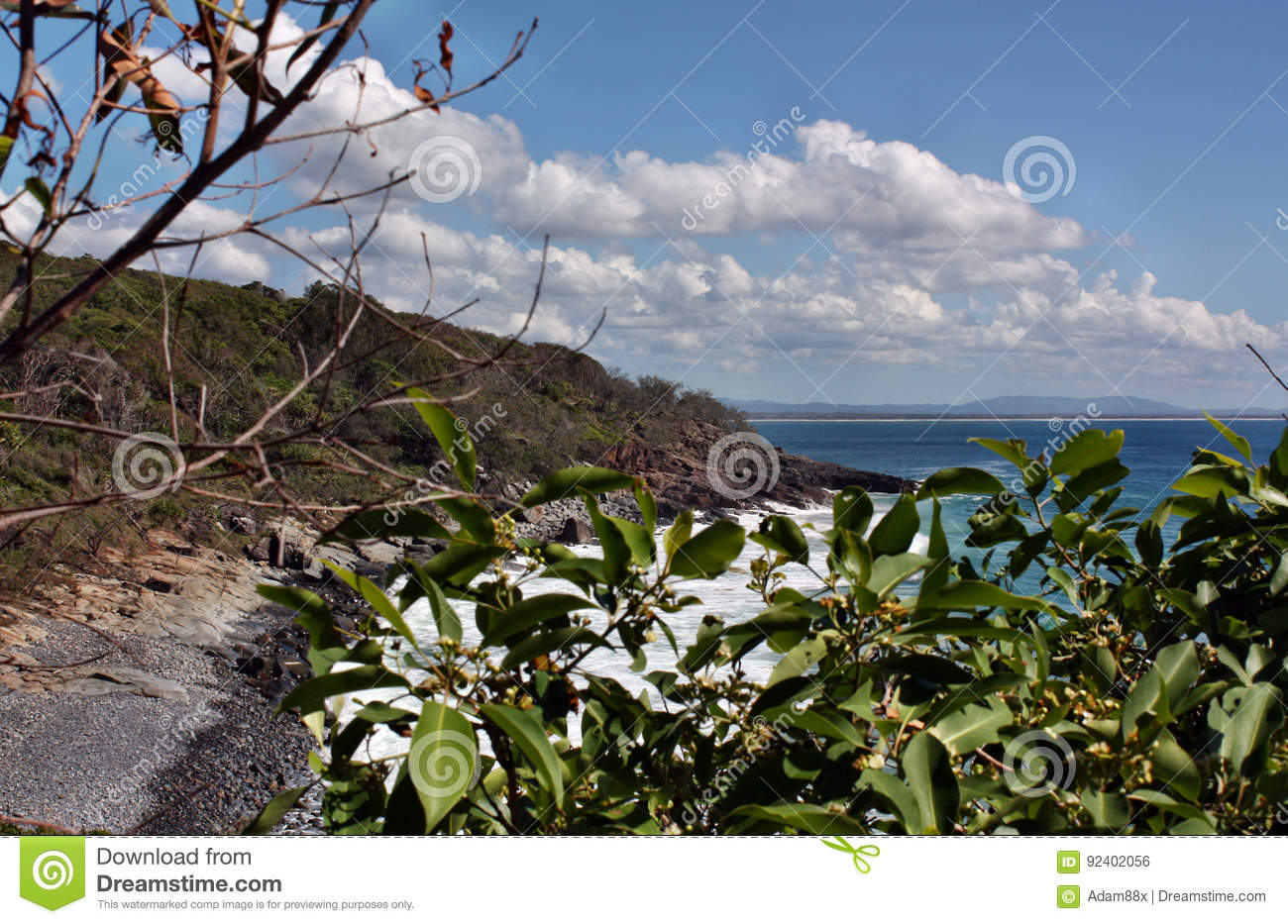 The incredible landscape of Noosa National park on Queensland`s Sunshine Coast, AustraliaThe incredible landscape of Noosa Nationa