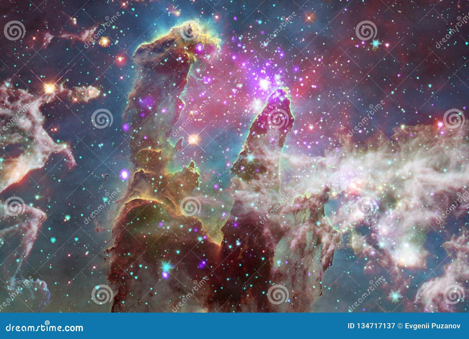 Incredibly härlig galax många ljusår långt från jorden