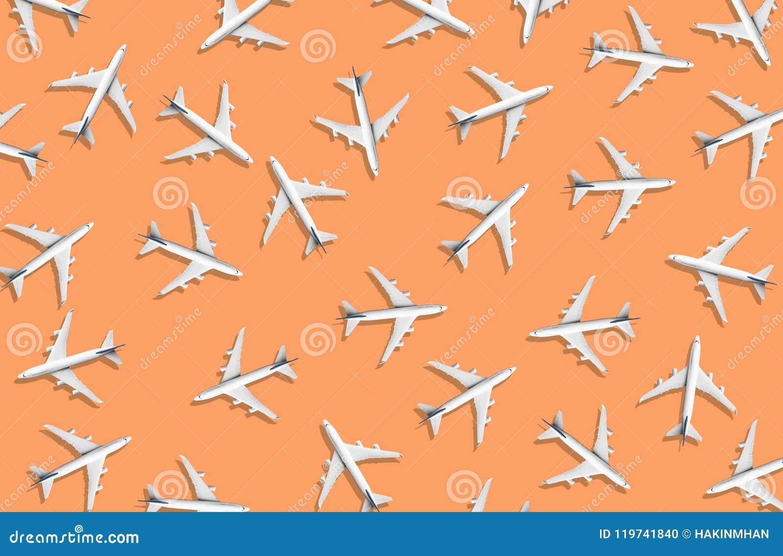 Indústria da aviação com grupo de avião Gestão de trânsito