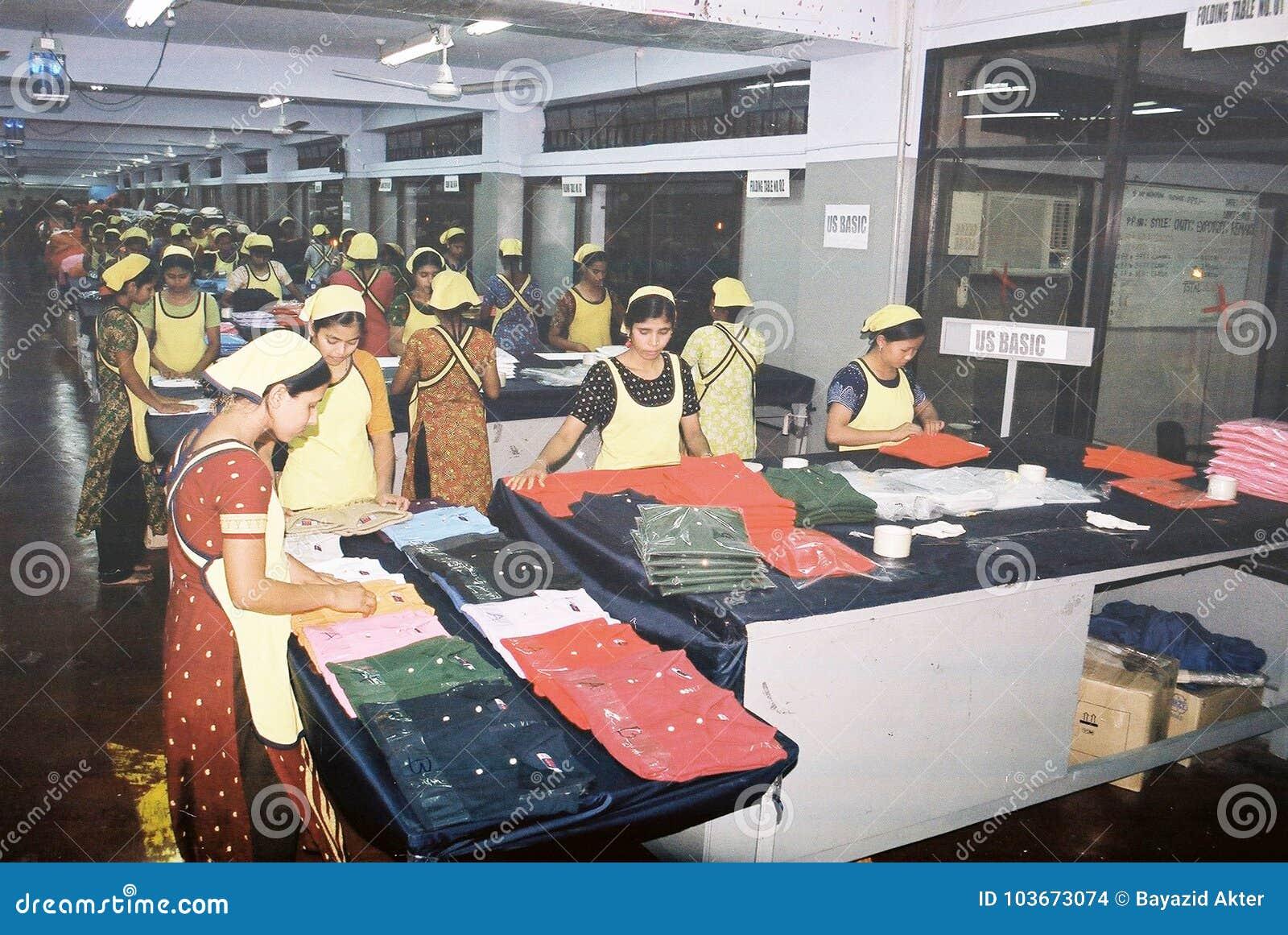 Indústria de vestuários em Bangladesh