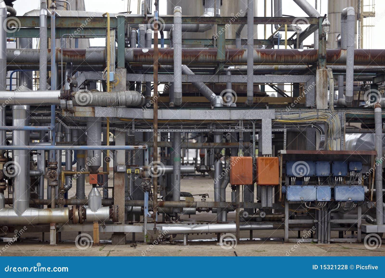 Indústria do petróleo e da nafta