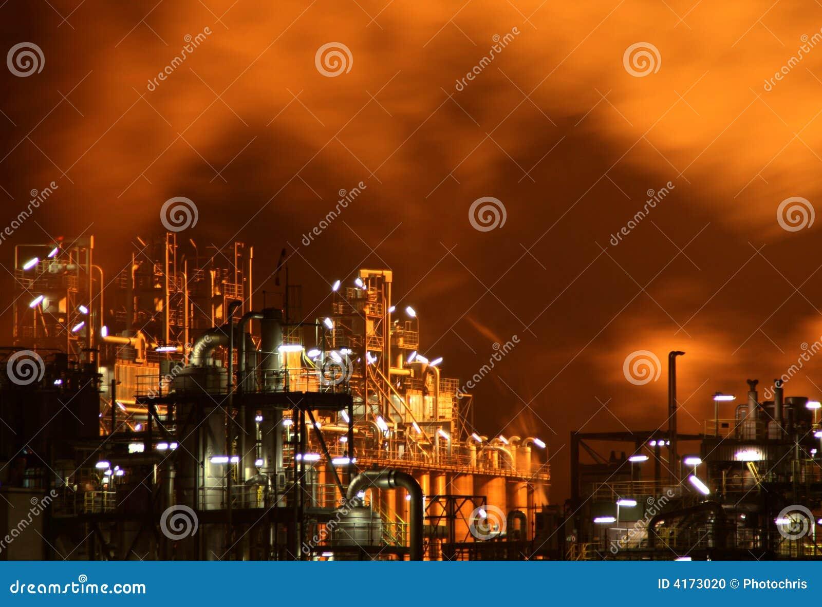 Indústria na noite