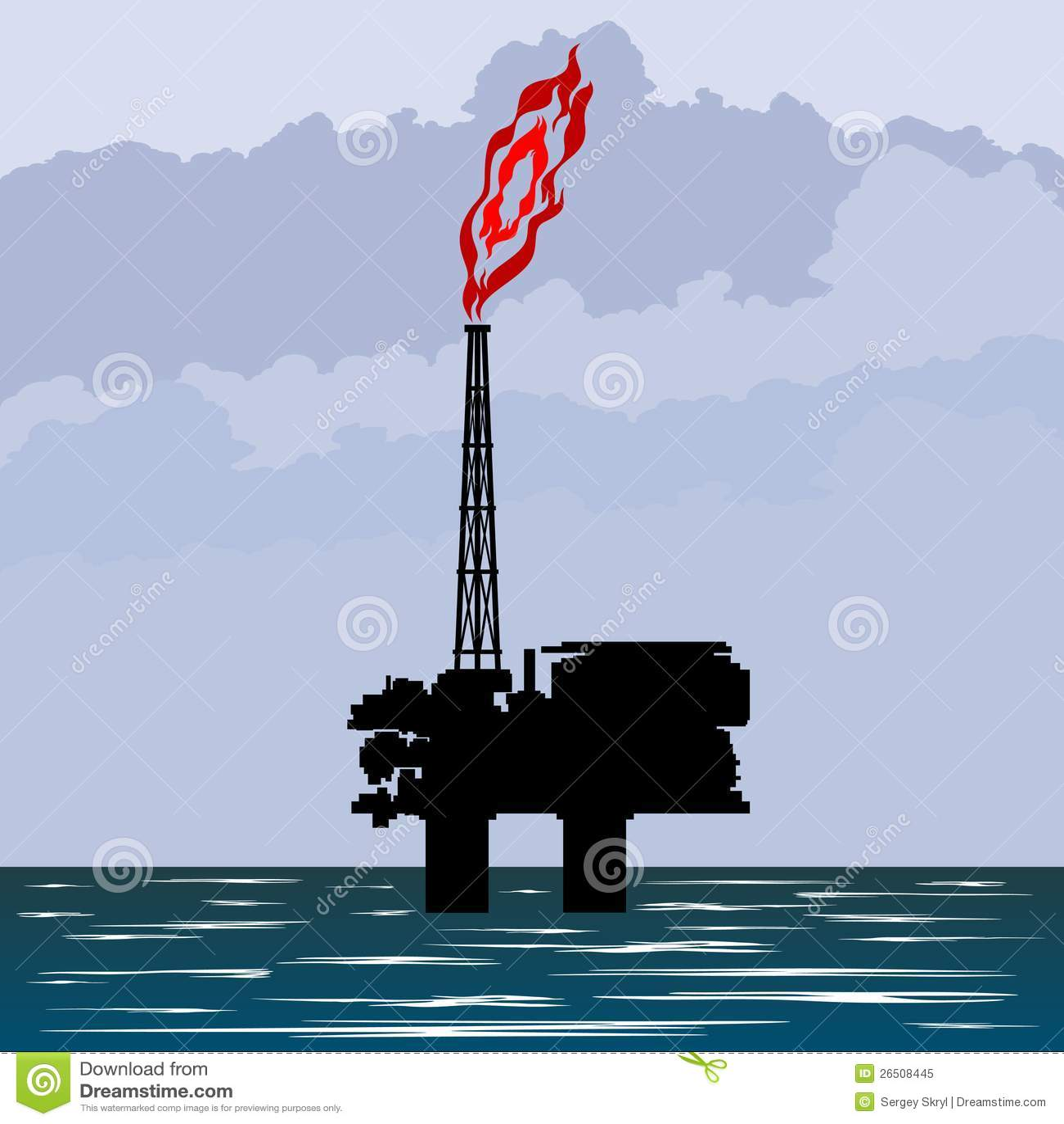 A indústria petroleira