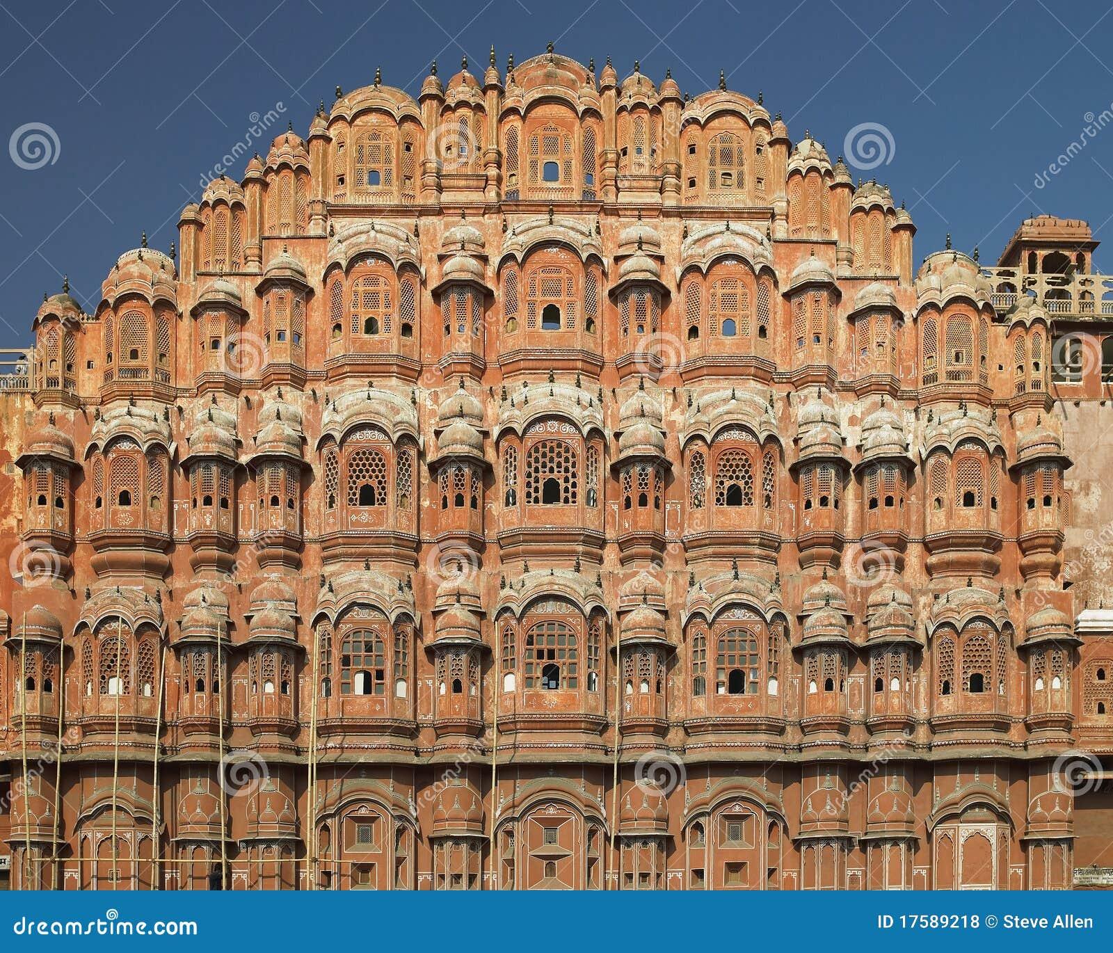 Ind Jaipur pałac wiatry