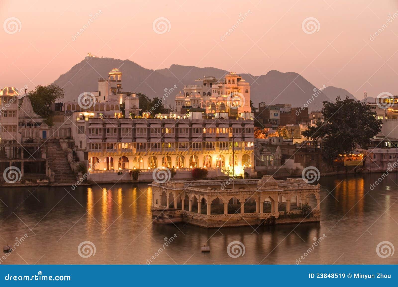 Ind pałac udaipur