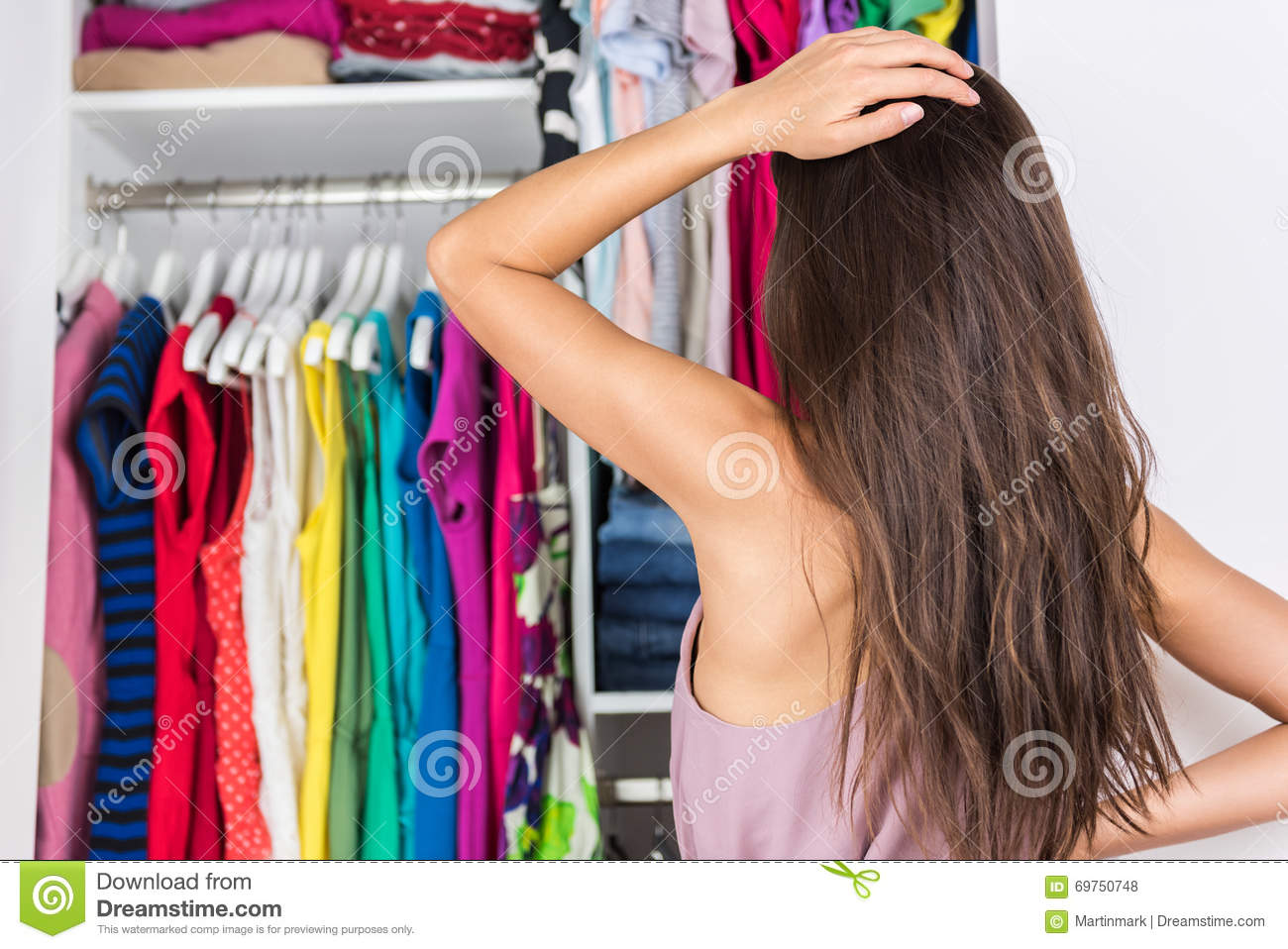 Woman S Clothes Bedroom For