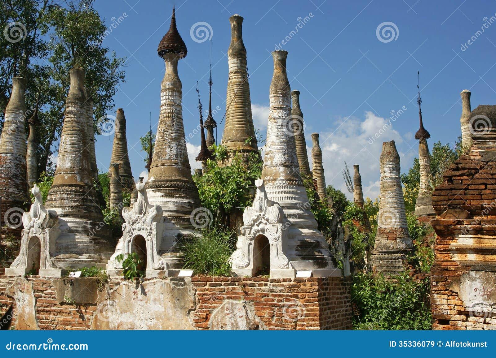 Indein, Inle jezioro, Myanmar