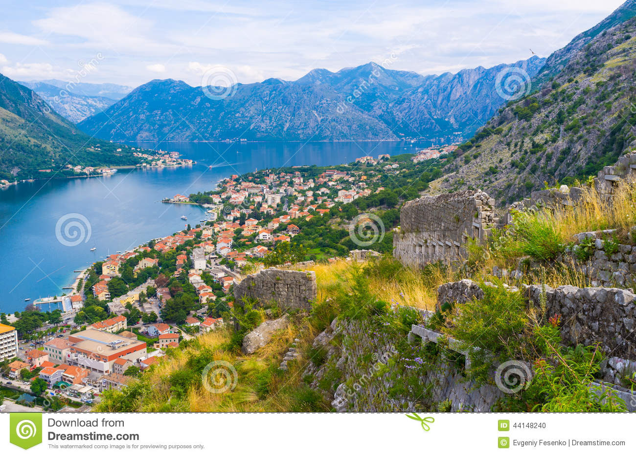 Download The indented coastline stock photo. Image of aerial, riviera - 44148240
