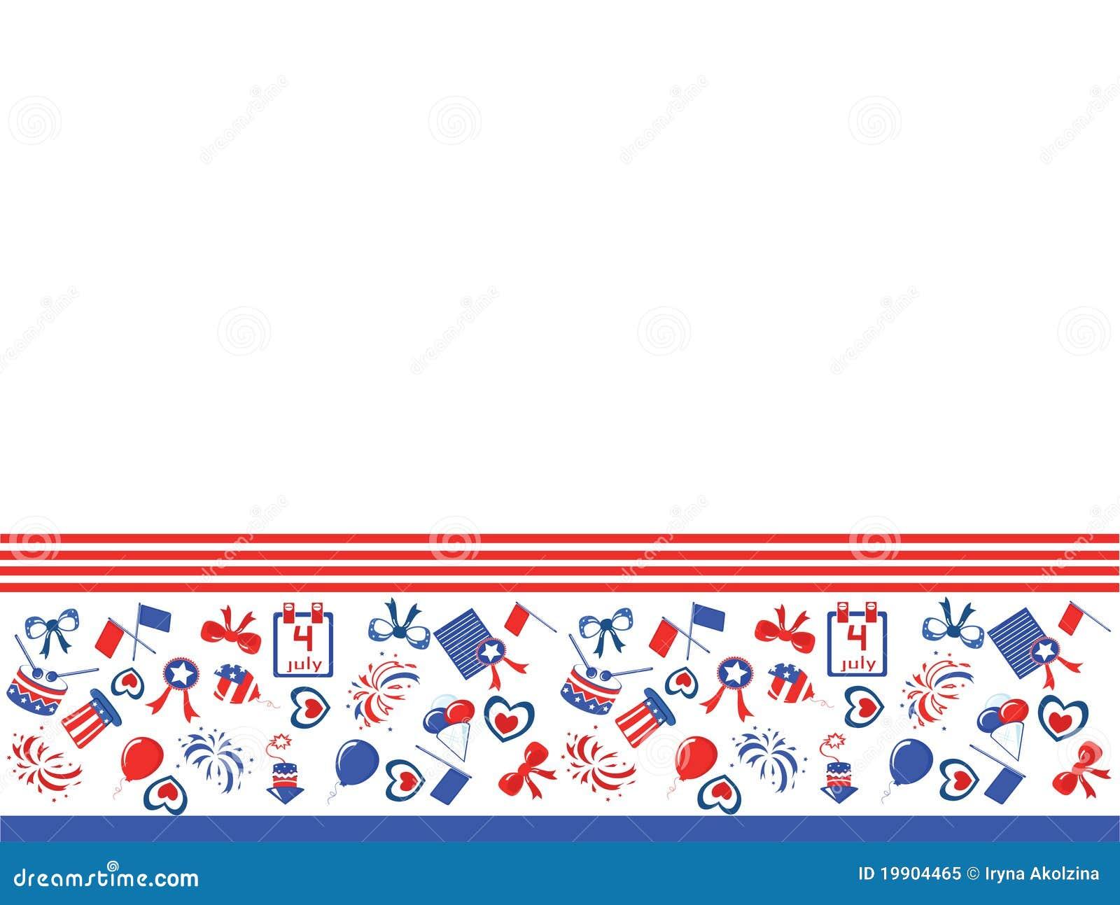 Independence Day,border Royalty Free Stock Photo - Image ...