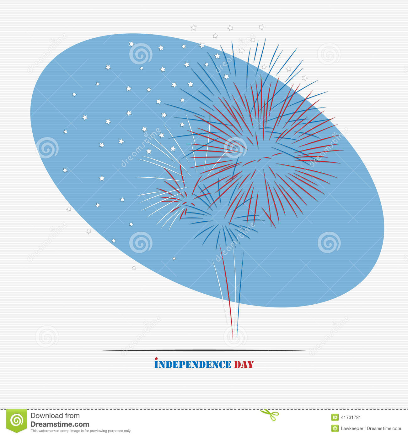 Independence day firework