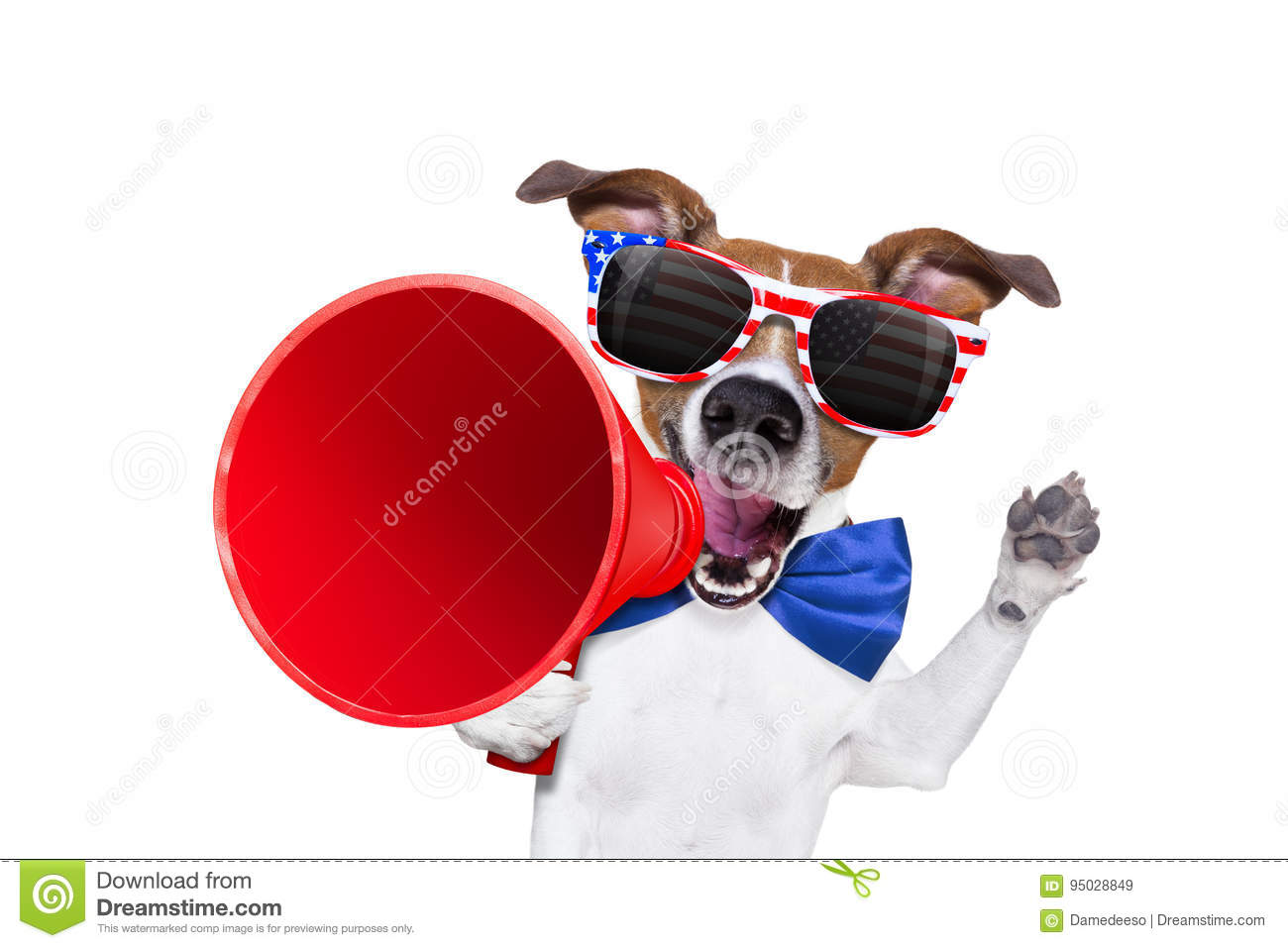 Download Independence Day 4th Of July Dog Stock Image - Image of fourth, national: 95028849