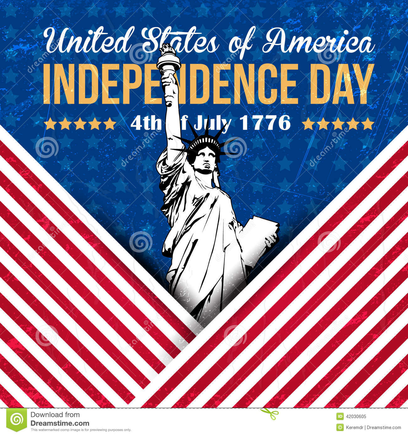 Independence Day: Independence Day Stock Illustration