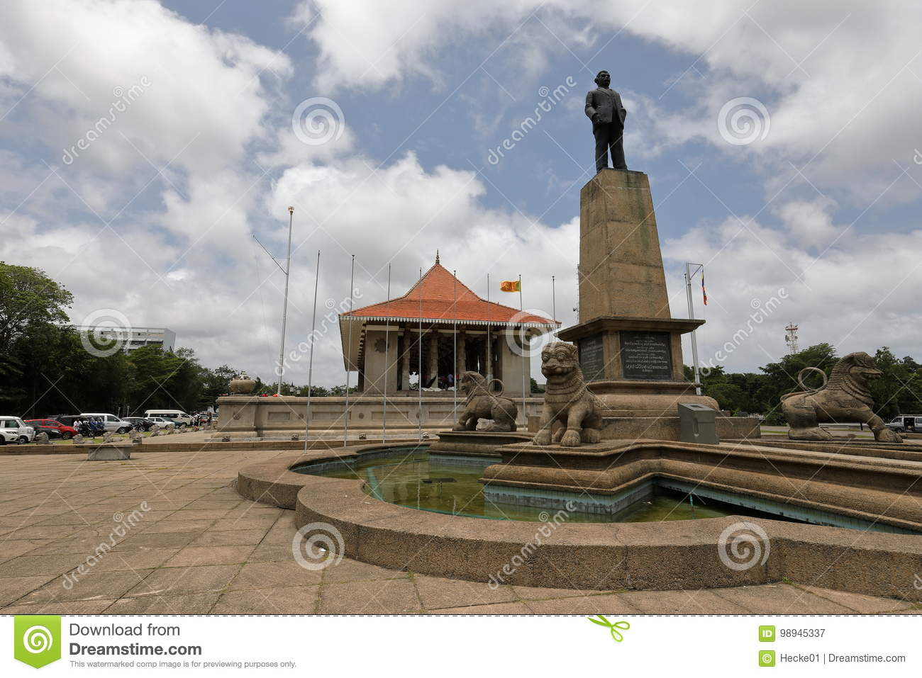 Independence Hall of Colombo in Sri Lanka
