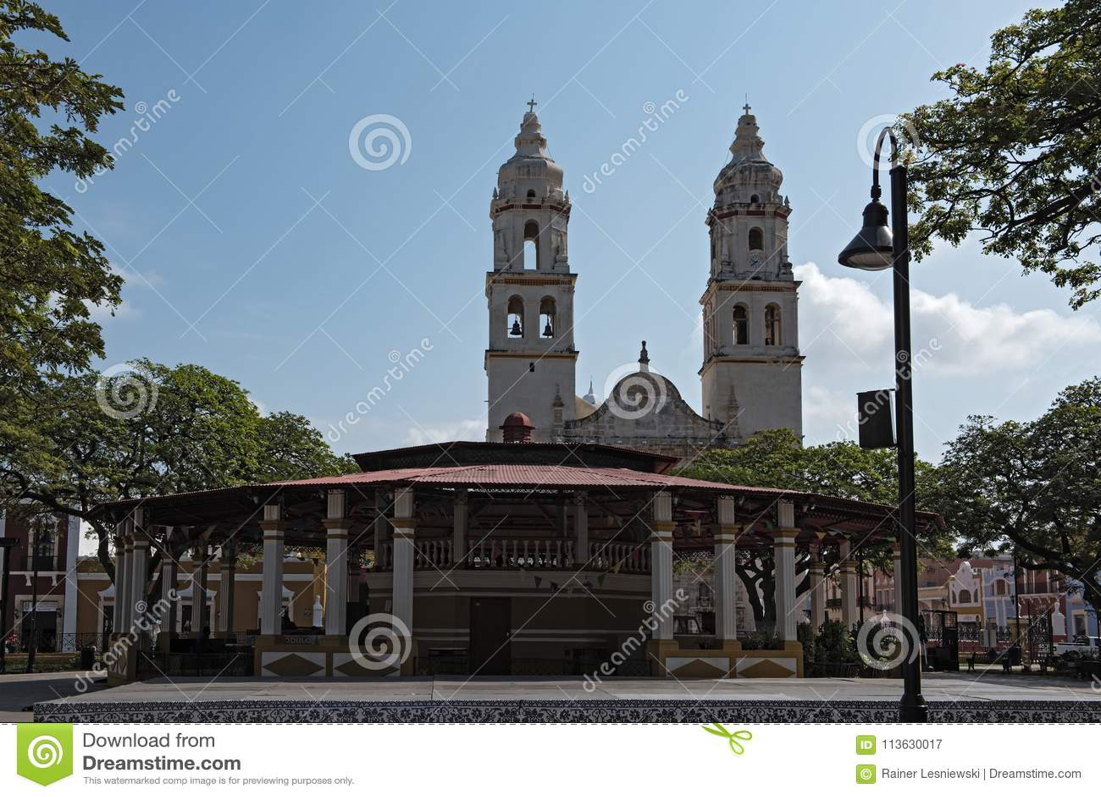 Campeche, Mexico   San Francisco de Campeche is the ...   Campeche City Monuments