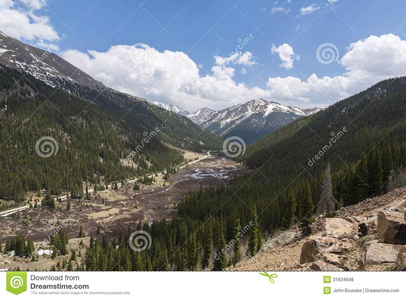 Independence Pass Scenic