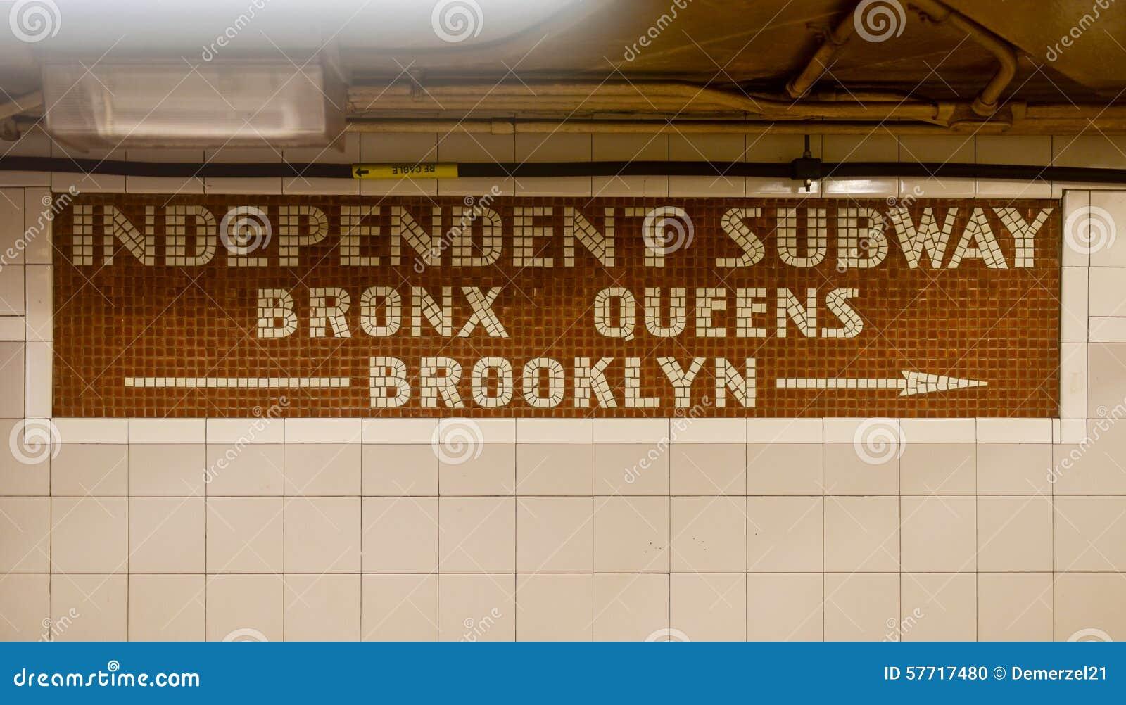 Independent Subway - New York ...