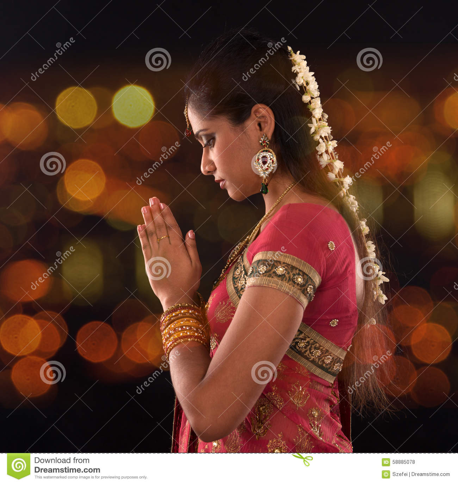 Indiańska żeńska modlitwa