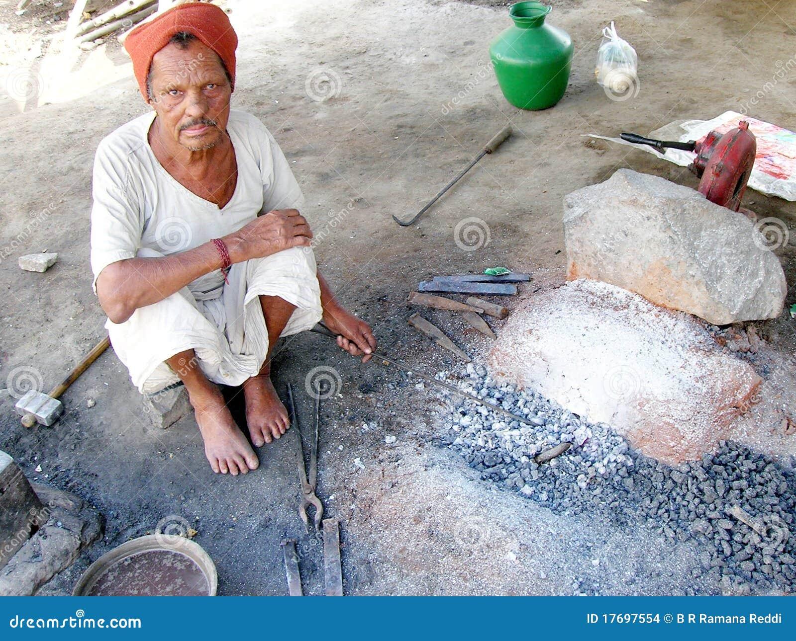 Indiański blacksmith