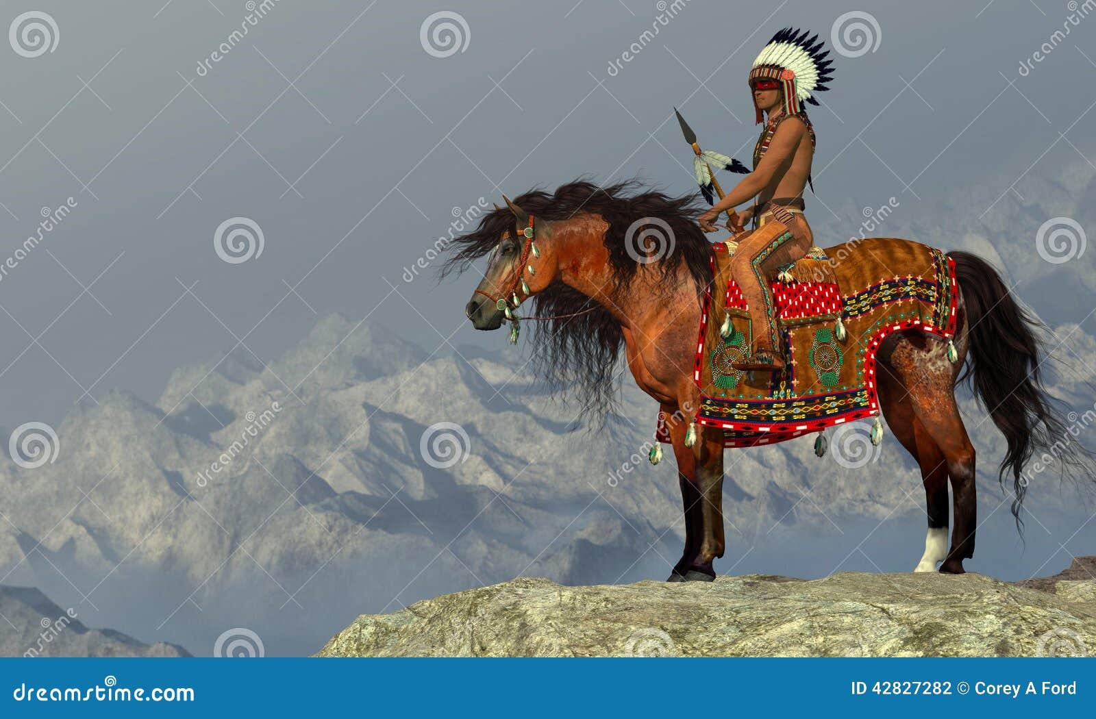 Indiański Dumny Eagle