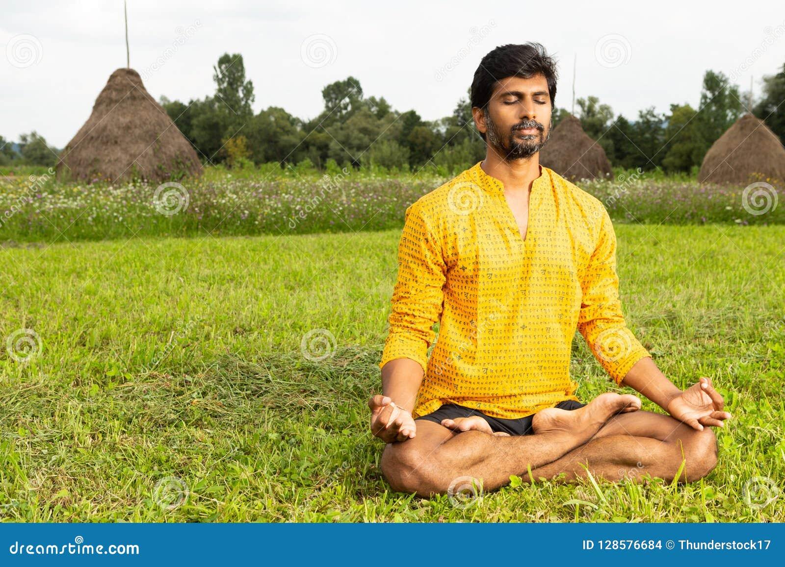 Indiański relaksować joga