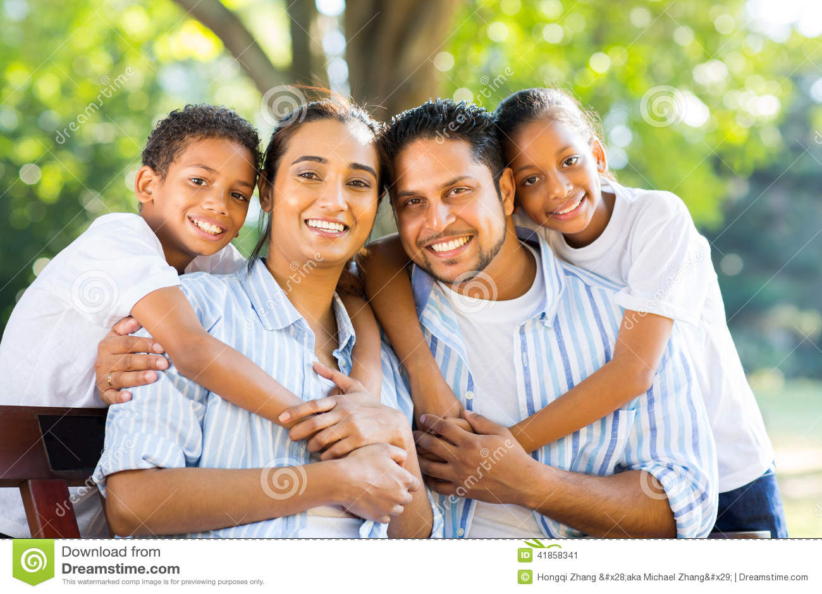 Indiański rodzina park