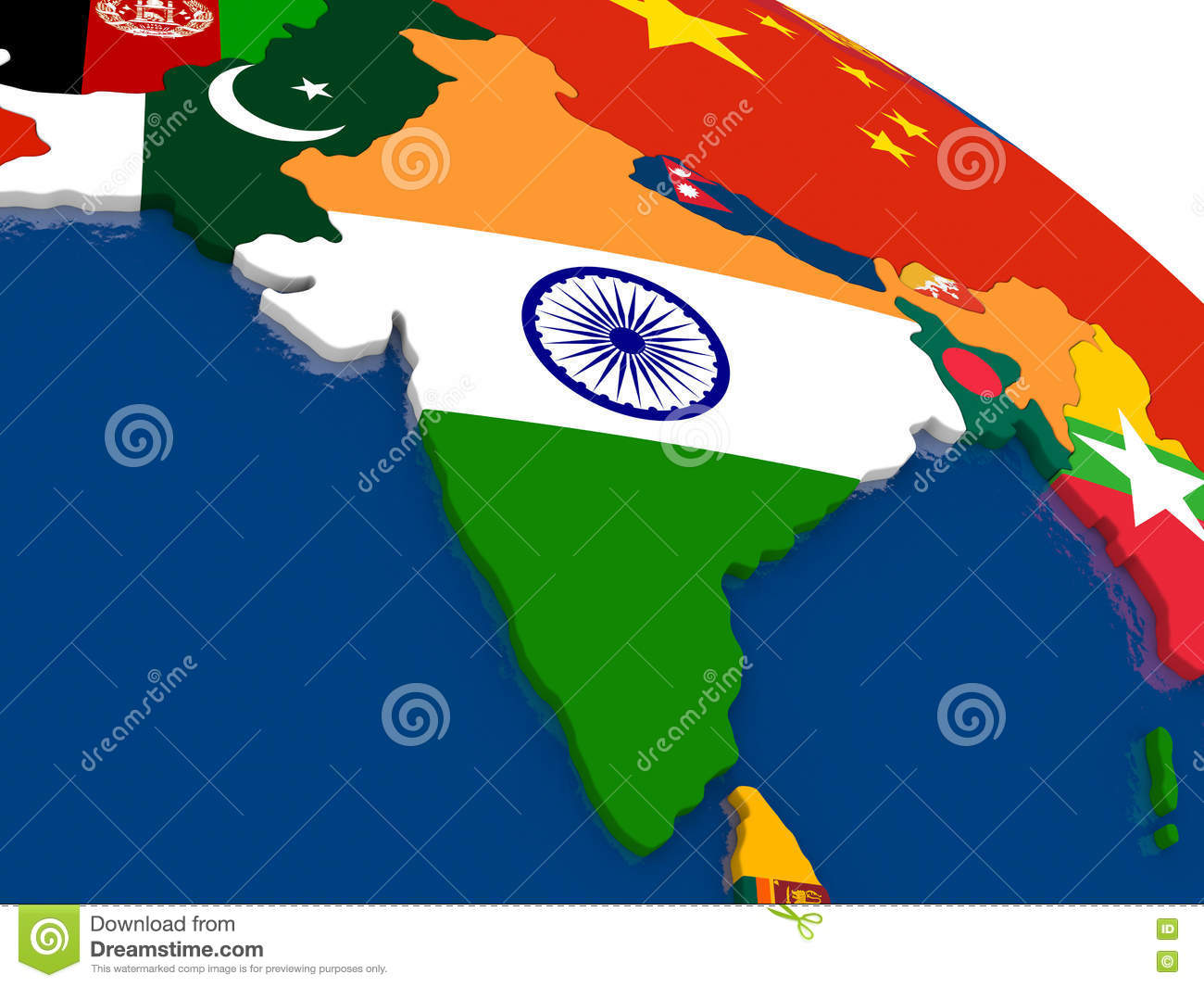 India on 3d map with flags stock illustration illustration of download india on 3d map with flags stock illustration illustration of global 73328854 gumiabroncs Image collections