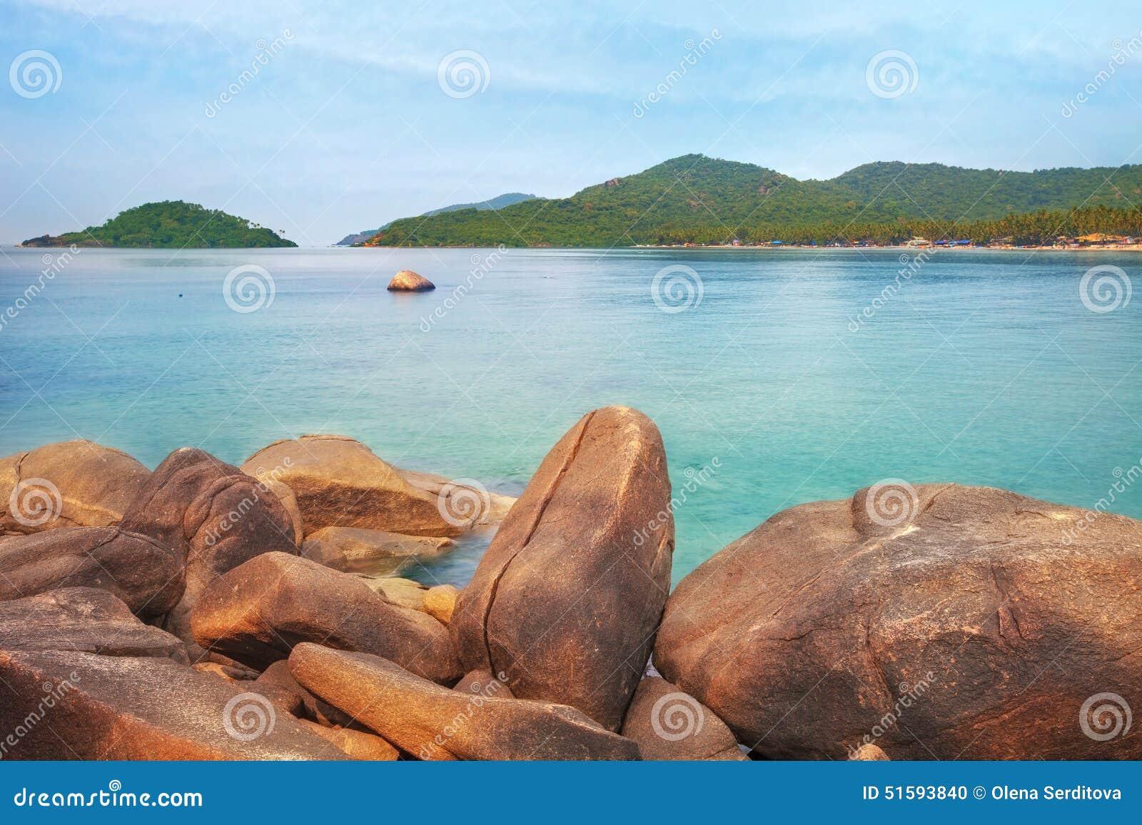 India, Goa, Palolem plaża