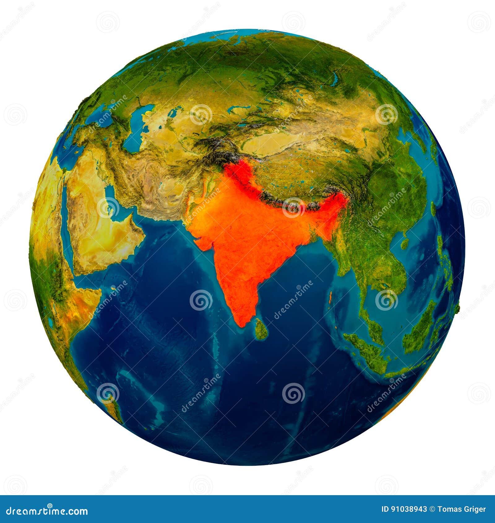 India highlighted on globe stock illustration. Illustration of orbit on pitchers from india, top religions in india, world atlas, globe india, mountains in india, world continents india, world yoga day in india, digital technology in india, most beautiful places india, states of india, goa india, world maps before 1859, skype india, mumbai india, geography india, animals india, places in india, world from vietnam, kashmir india, people india,