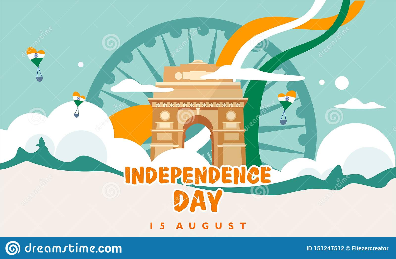 India Independence Day  15 August  India Gate  Heritage